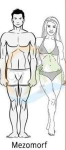 mezomorf vücut tipine göre beslenme