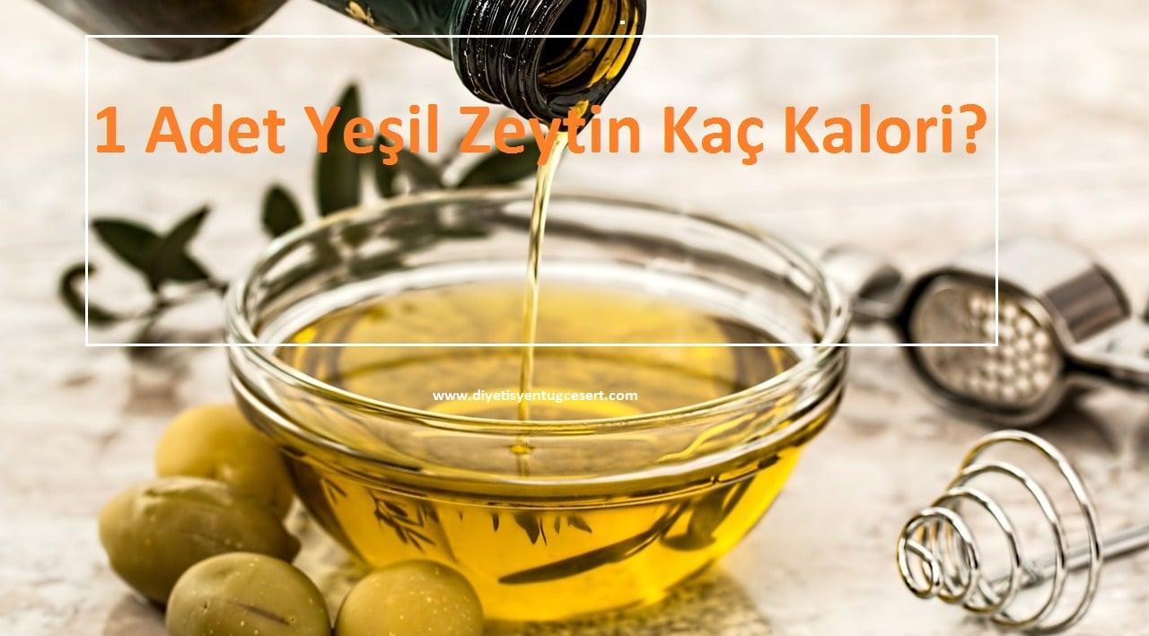 Zeytin Kaç Kalori
