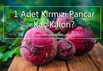 Kirmizi Pancar Kalorisi