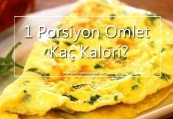 omlet kalorisi