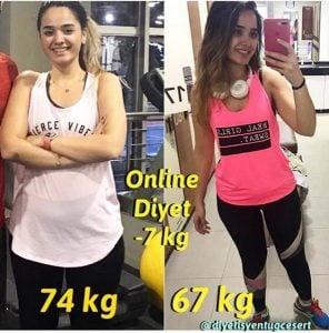online diyet yapanlar